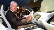 Am Steuer bei VW: Konzernchef Matthias Müller