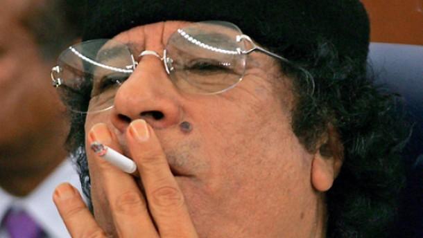 Keine armen Leute: Muammar Gaddafi (Libyen)