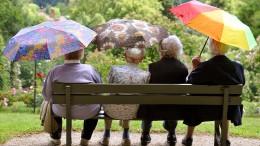 Frauen bekommen ein Viertel weniger Rente als Männer