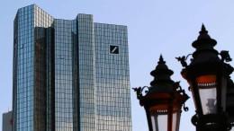 Deutsche Bank streicht Reisekosten zusammen