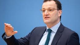 Spahn plädiert für Genehmigungspflicht von Impfstoff-Exporten