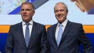Der Chef und sein Kontrolleur: Der Lufthansa-Vorstandsvorsitzende Carsten Spohr (links) mit Multi-Aufsichtsrat Karl-Ludwig Kley