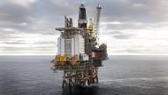 Die Brage-Plattform des staatlichen norwegischen Ölförderers Equinor.