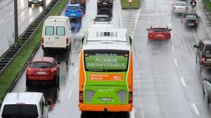 Länderverkehrsminister wollen Fernbus-Maut