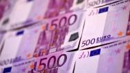 Die Ausgabe des 500-Euro-Scheins wird im Jahr 2018 eingestellt.