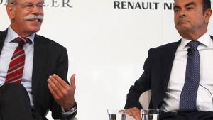 Daimler und Renault rücken enger zusammen