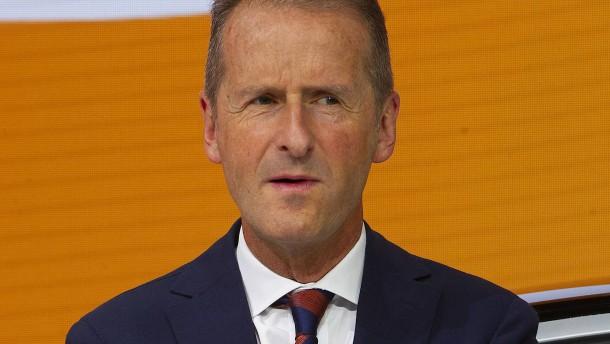 Vorstandschef Diess wird Marke Volkswagen entzogen
