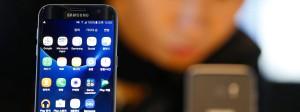 Florierende Smartphone-Geschäfte: Samsung hat ein sehr gutes Quartal geschafft.