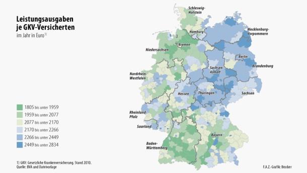Die teuersten Patienten  wohnen in Pfaffenhofen