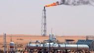 Diese Anlage läuft noch: Das Khurais-Ölfeld, das rund 160 Kilometer von Riad entfernt liegt