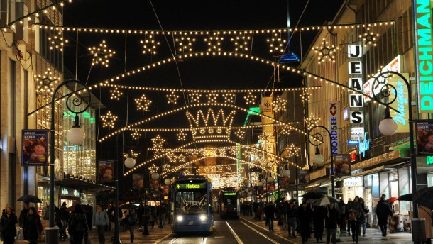 Weihnachtsbeleuchtung Kassel
