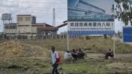Brachland: In Kenias Hauptstadt Nairobi nutzt China manche Investitionsmöglichkeit