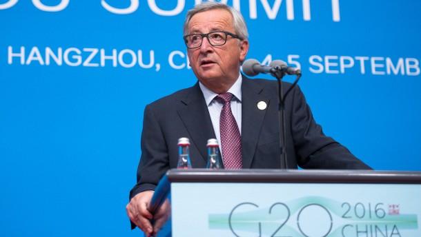 """Juncker: """"Wir werden mit Amerika weiter verhandeln"""""""