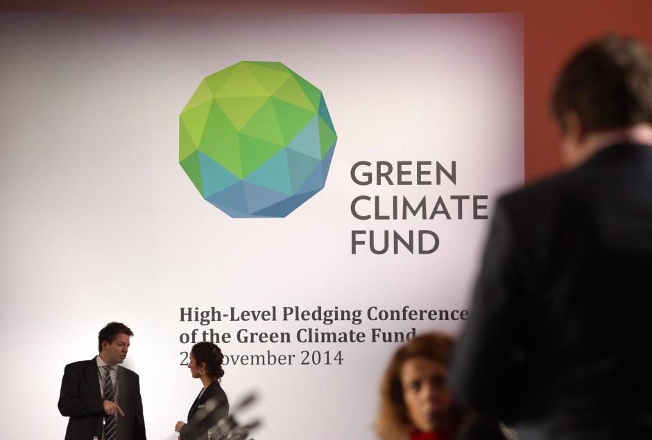 Klimafonds-Geberkonferenz in Berlin