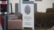 Das amerikanische Generalkonsulat in Frankfurt soll Ausgangspunkt für die Spionageaktionen der CIA gewesen sein.