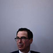 Der amerikanische Finanzminister Steven Mnuchin