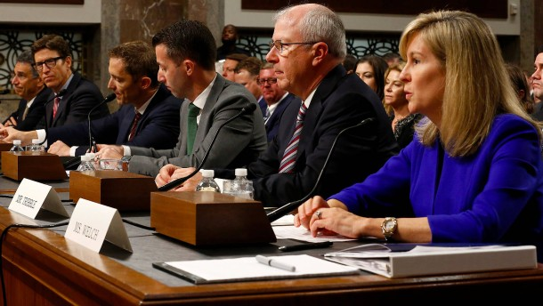 Amerikas Tech-Konzerne für neues Datenschutzgesetz