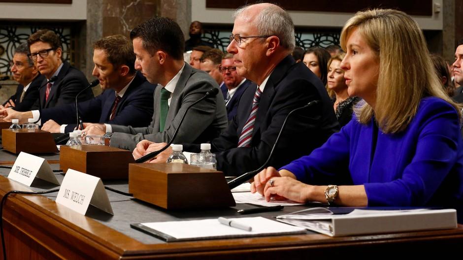 Am Mittwochabend haben Vertreter von Apple, Google und Amazon vor dem Kongress in Washington ausgesagt.