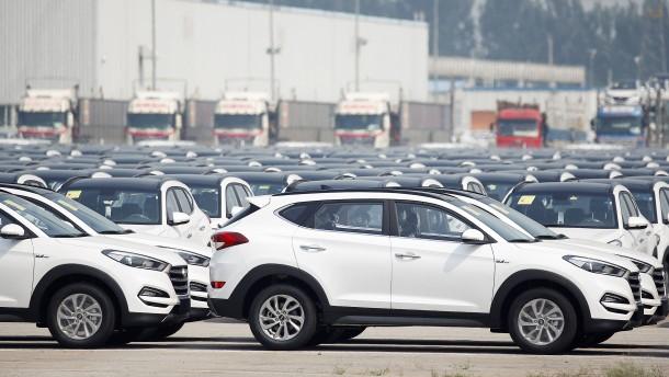 Hyundai und Kia verkaufen weniger Autos