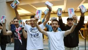 Apple ist jetzt eine Billion Dollar wert