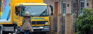 Für viele Deutsche kein positives Symbol: Der Umzugswagen.