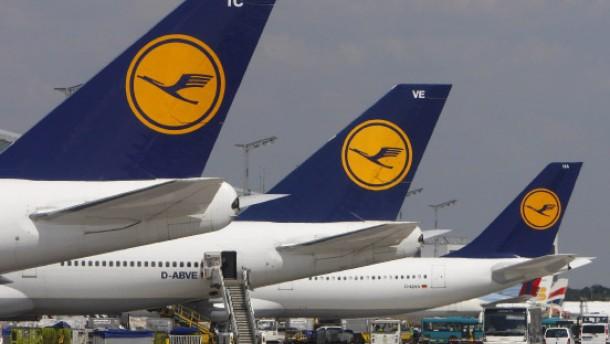 Lufthansa legt Flugzeuge still