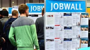 Arbeitslosenzahl im Oktober abermals gesunken