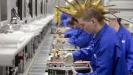 Hindern bunte Haare an einer erfolgreichen Arbeit in der Hochtechnologie? Hewlett Packard sieht das in seinem Unternehmen in St. Petersburg offenbar anders.