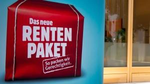 Welle von Frührentnern wegen Rente mit 63