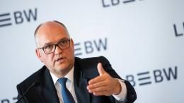 LBBW hält Sparkassen-Zentralbank für unrealistisch