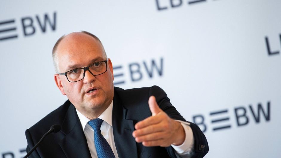 Rainer Neske, Vorstandsvorsitzender der Landesbank Baden-Württemberg