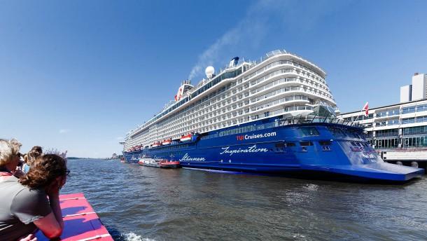 Naturschutzbund kritisiert Umweltbilanz von Kreuzfahrtschiffen