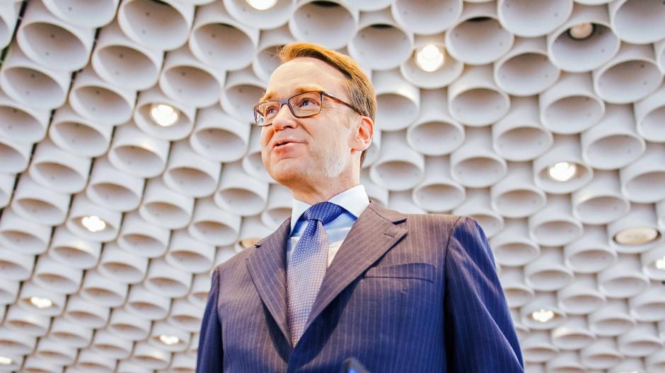 Jens Weidmann, der Präsident der Deutschen Bundesbank
