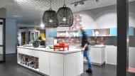 Schauraum des Küchenherstellers Alno in Pfullendorf