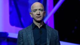 Jeff Bezos fliegt ins All