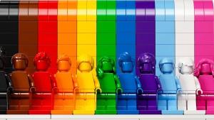 Lego verkauft bald Regenbogen-Figuren