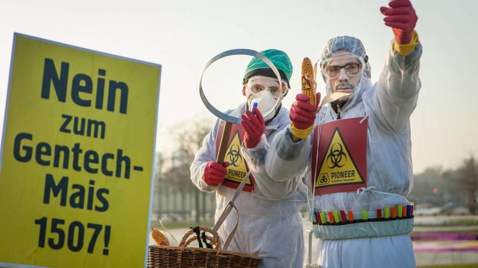 Aktivisten in Berlin.