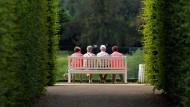Regierung erwartet steigende Altersarmut