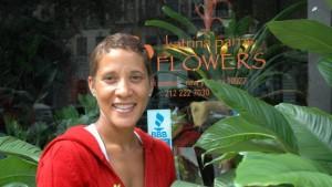Die Floristin verlegt ihren Laden