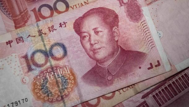 Chinas Währung ist jetzt in der Champions-League