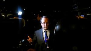 Hollande knapp vor Sarkozy - Marine Le Pen überraschend stark