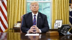 Trump an Kongress: Wenn ihr euch einmischt, beende ich das