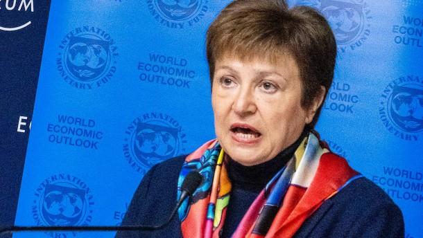 IWF erwartet globale Rezession