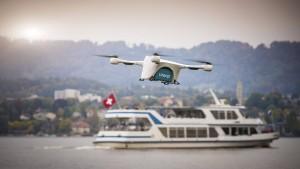 Rendezvous mit einer Drohne