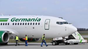 Germania wettert gegen Hilfe für Air Berlin