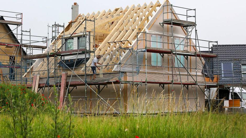 Holz spielt als Baustoff eine immer größere Rolle.