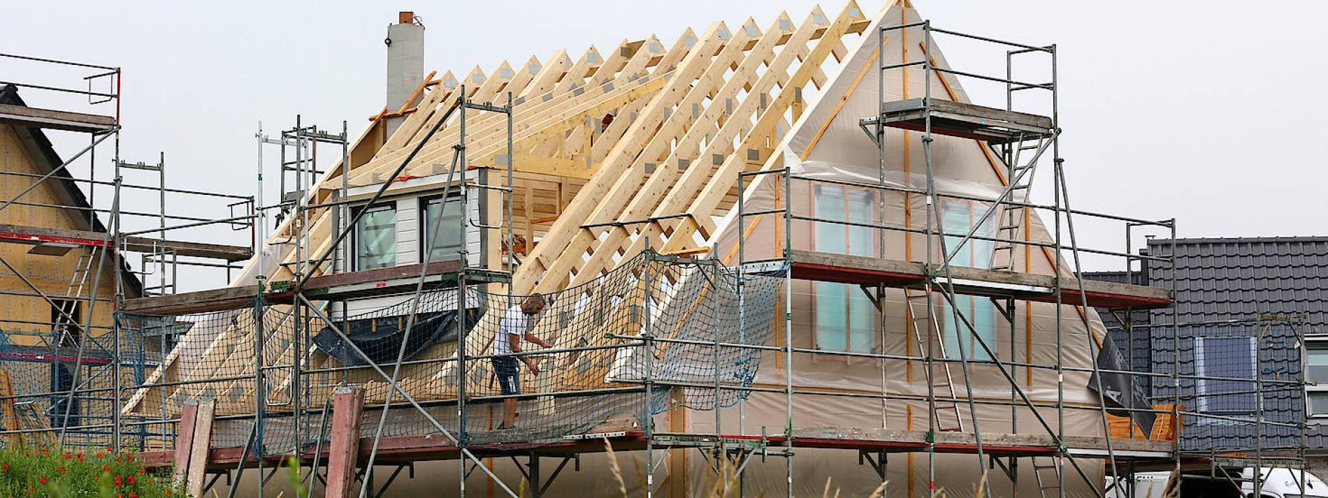 Holzhäuser werden teurer