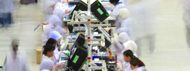 Produktion in Senai