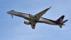 Japans neues Passagierflugzeug hebt zum Jungfernflug ab