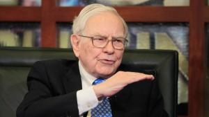 Warren Buffett verdient etwas weniger
